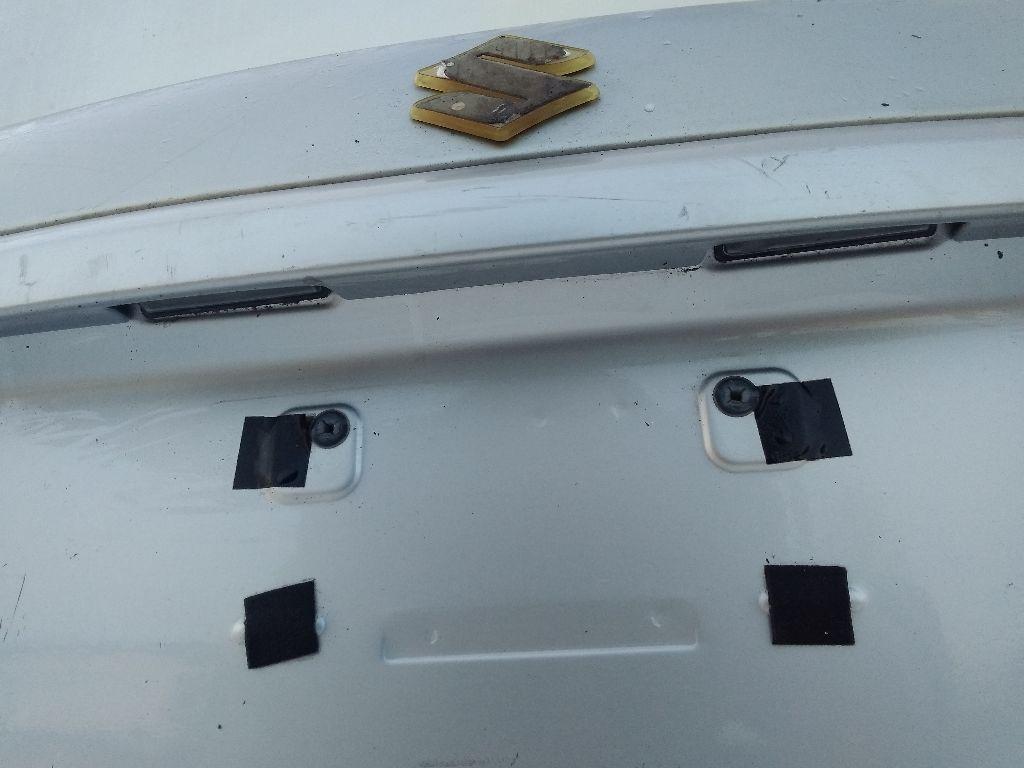 Подсветка номера Suzuki SX4 1