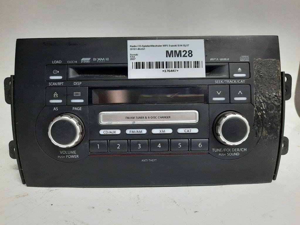 Магнитола (аудио система) Suzuki SX4 1 39101-80JG1
